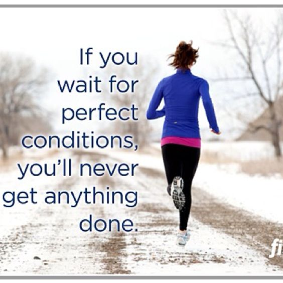 love running in the cold!