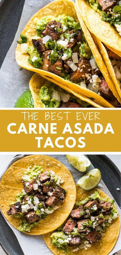Carne Asada Tacos - Isabel Eats