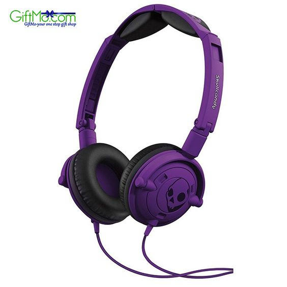 Amazing Sound Quality Skullcandy Lowrider Headphones in Athletic Purple