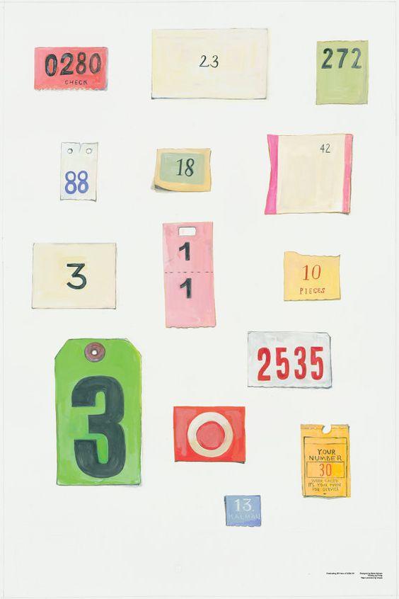 Maira Kalman Signed AIGA/NY 30th Anniversary Poster by AIGANY, $100.00