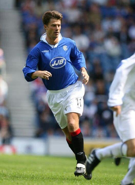 Brian Laudrup (Rangers FC, 1994–1998, 116 apps, 33 goals)