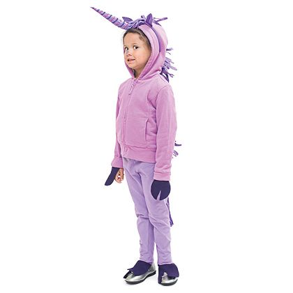 Quick diy no sew unicorn costume made with felt duct for Quick halloween costumes for toddlers