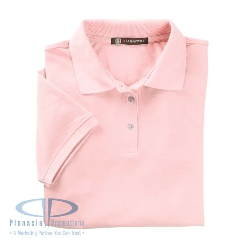 Our Harriton Ladies' 5.6 oz. Easy Blend Polo is the Deal of the Month for March with reduced set-up fee!
