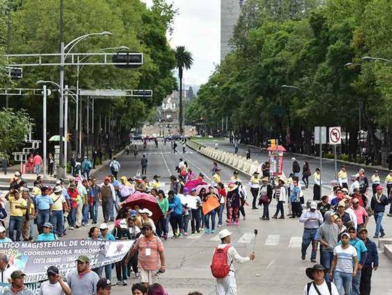 Se prevén ocho manifestaciones en la Ciudad de México