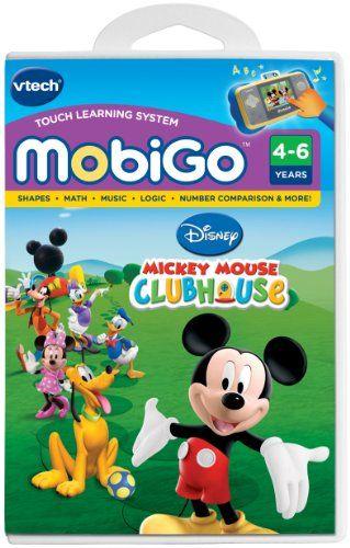 Vtech - MobiGo Software - Mickey Mouse Clubhouse $17.71
