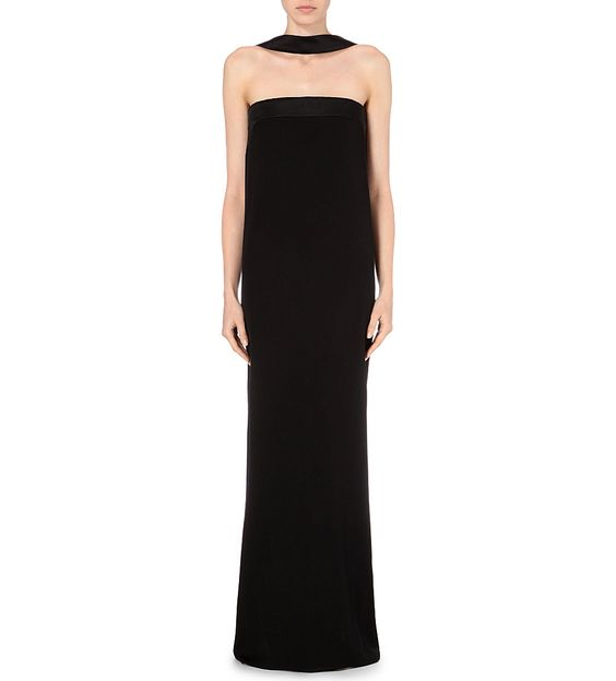 TOM FORD - Strapless silk-satin corset gown | Selfridges.com