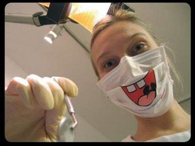 lol  i don't know if I could of pulled this off when I worked at dentist LOL
