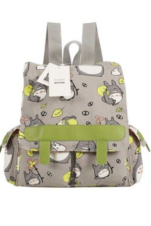 This Totoro knapsack ($30). | The Ultimate Gift Guide For All Your Miyazaki-Obsessed Friends:
