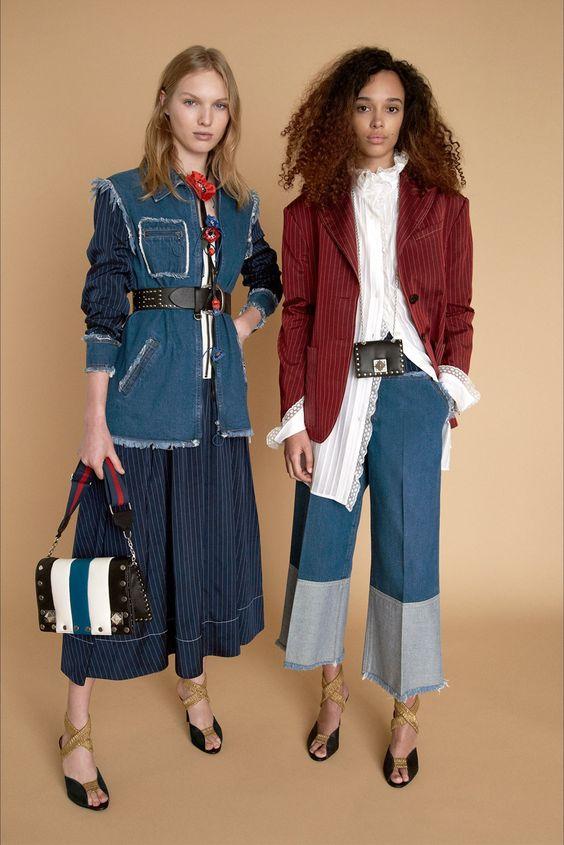 Guarda la sfilata di moda Sonia Rykiel a New York e scopri la collezione di abiti e accessori per la stagione Pre-collezioni Primavera Estate 2018.
