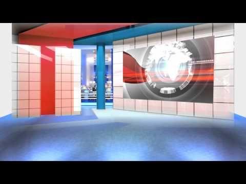 Free Virtual News Studio Set News Motion Background Studio 1080p Virtual News Studio Virtual News Studio Virtual Studio New Backgrounds Studio Background News studio background hd 1080p