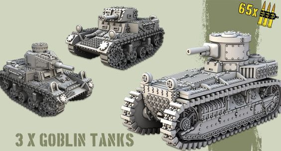 Goblin Tanks