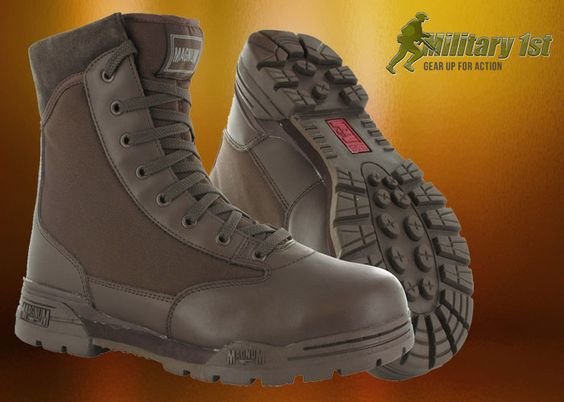 Military1st: Magnum Classic Boots Brown