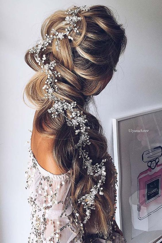 Braided Wedding Hair Ideas You Will Love ❤ See more: http://www.weddingforward.com/braided-wedding-hair/ #weddings: