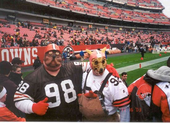 Cleveland Browns Dog Pound