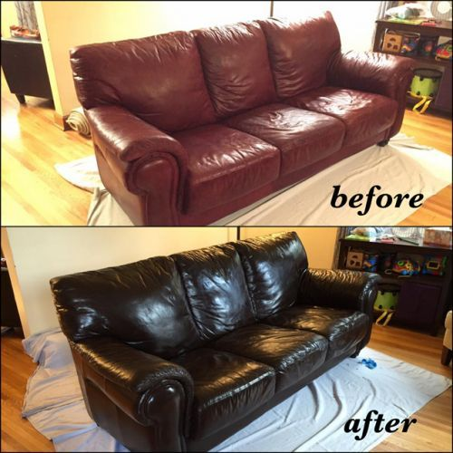 Mahogany Leather Furniture Dye Vinyl, Brown Leather Dye For Furniture