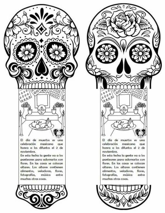 Si Quieres Aprender Ensena Dibujo Dia De Muertos Dia De Muertos Actividades Dia De Muertos