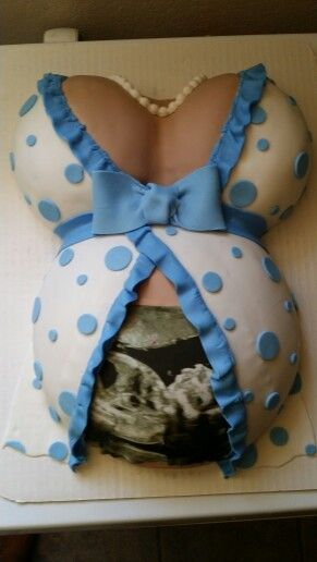 Baby bump cake made by Jluv Cakes