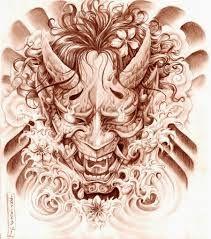 Resultado de imagen para dibujos de samurais de terror a lapiz