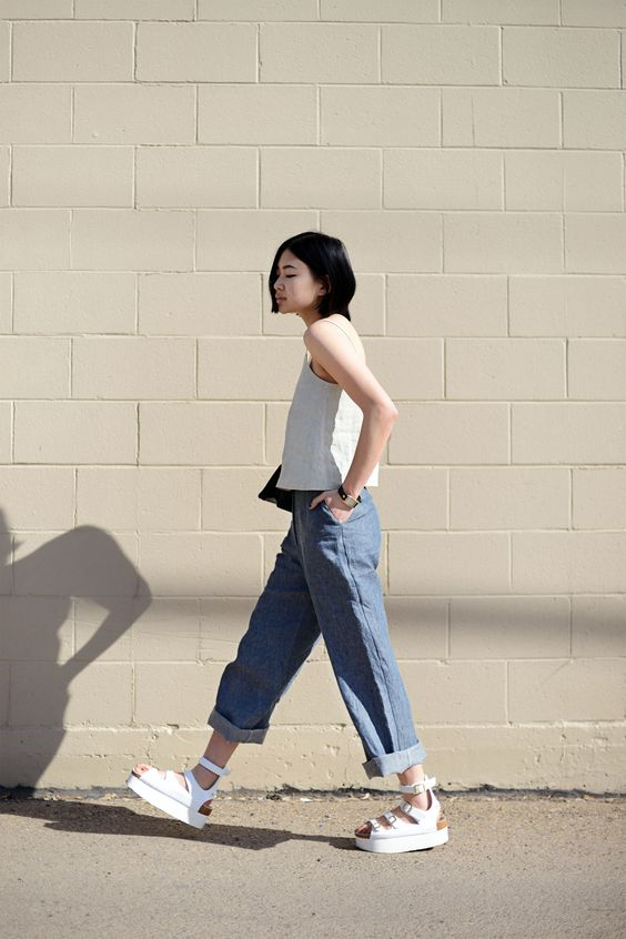 30 Fashion Girls Who Make Flatforms Look RemarkablyChic   StyleCaster: