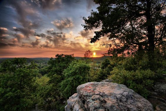 Arkansas Scenic View- This could be Clarksvilles Stoney Point view, Beautiful