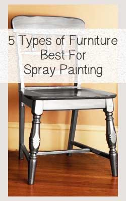 5 types of furniture that are best for spray painting furniture sprays and diy and crafts for What type of paint to use in bedroom