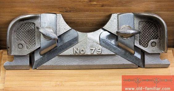 seltener Stanley Hobel 79 gebraucht / rare Stanley plane 79 used