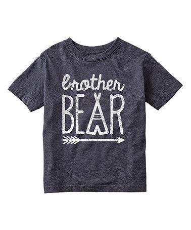 Look at this #zulilyfind! Heather Blue 'Brother Bear' Tee - Toddler & Boys #zulilyfinds