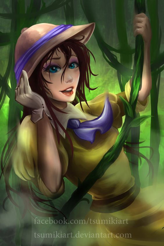 "Disney Girl : Jane Porter by TsumikiArt.deviantart.com on @DeviantArt - From ""Tarzan"""