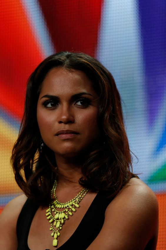 "NBCUniversal Press Tour July 2012 -- ""Chicago Fire Session"" -- Pictured: Monica Raymund -- (Photo by: Chris Haston/NBC) #ChicagoFire"