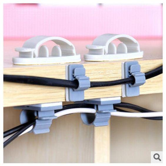 Pas cher 15 PCs ou 10 PCs adhésif câble ménages titulaires Racks de stockage fil électrique collecteur câble assembleuse ligne assembleuse LW0407, Acheter  Egouttoirs et Racks de qualité directement des fournisseurs de Chine:                         Frais de port                                       Frais de port