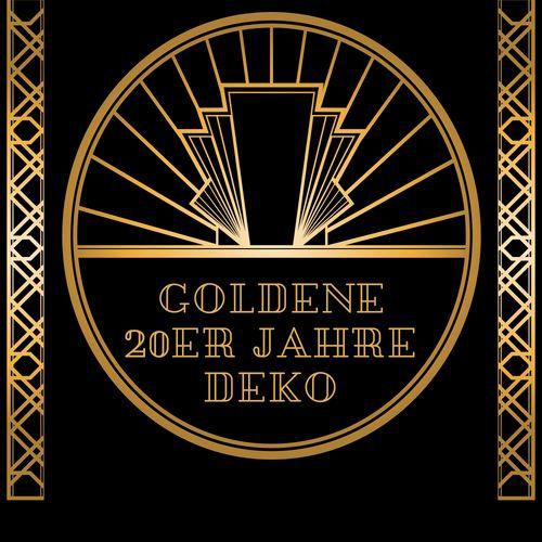Party Extra Goldene 20er Jahre Mottoparty Deko 20er Jahre Mottoparty 20er 1920er Party