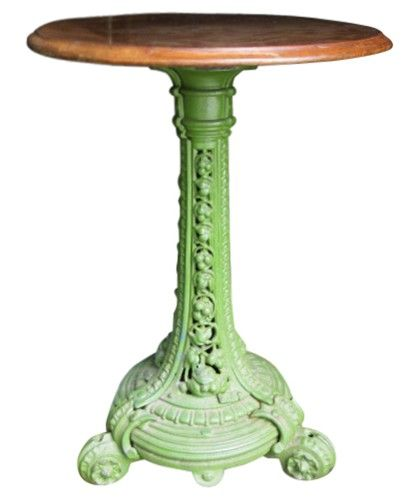 Antique English Cafe Table.: Color, Corlor Green, Antique English, Paint Table, Design Greens, Antique Vintage Doors, Table 775, Cafe Tables