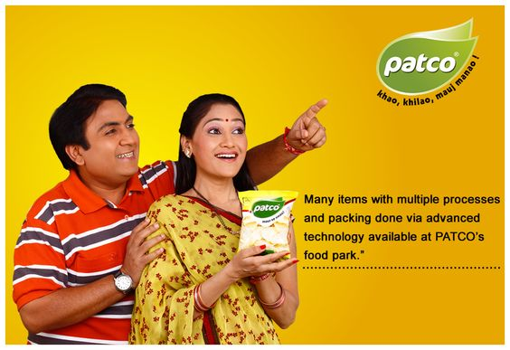 AAj Kuch Chatpata Ho jaye Like Wafers, Kurkure and Fryums with patcoFoods http://patcofood.com/