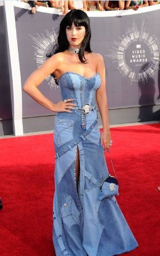 Katy Perry Crazy Outfit for 2014 MTV Video Music Awards