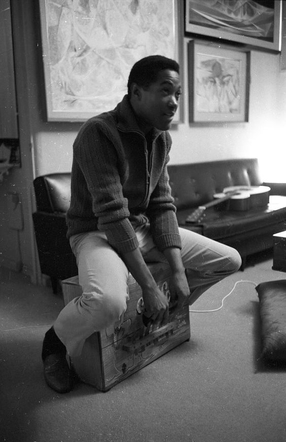 """talknurdy2me: """" Wow. Rare pic of Sam Cooke. That brotha was cool. Those shoes remind me of the Florsheims I rock..a grown man cannot be out here wearing Jordans on the regular…walk in style…. """""""