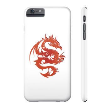 Red Star Dragon Phone Case