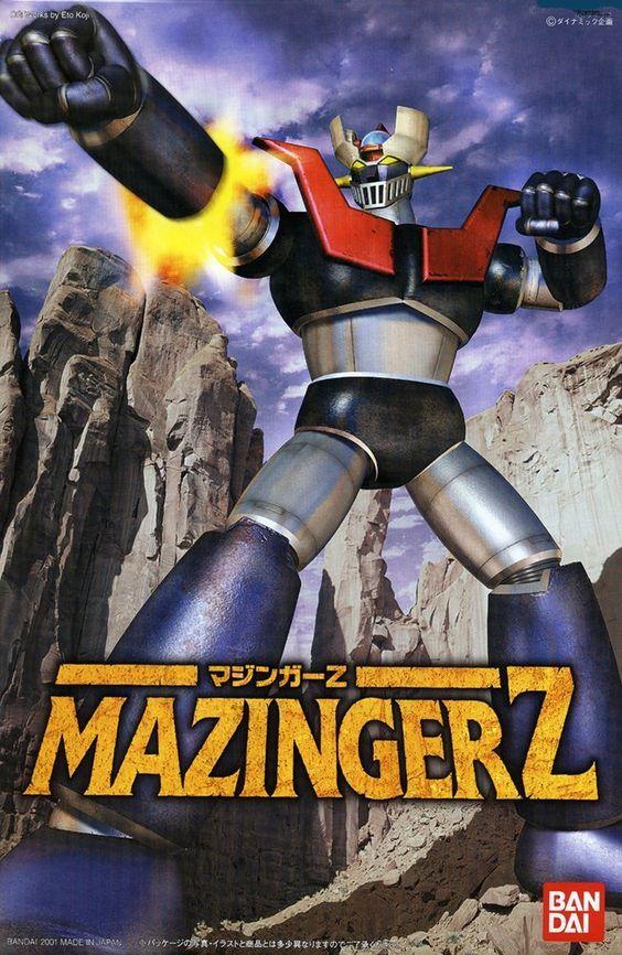 Mechanic Collection Mazinger Z Model Kit by Bandai: Amazon.es: Juguetes y juegos