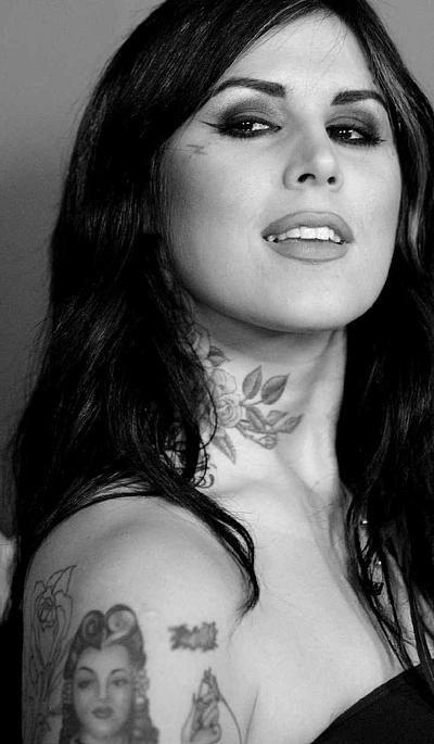 Kat Von D is an incredible tattoo artist.  Love her!
