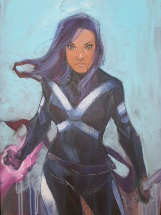 Psylocke by Phil Noto