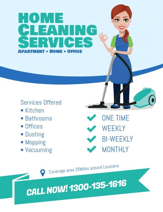 Cleaning Services Flyer Template Cleaning Service Flyer Cleaning Service Cleaning Service Logo
