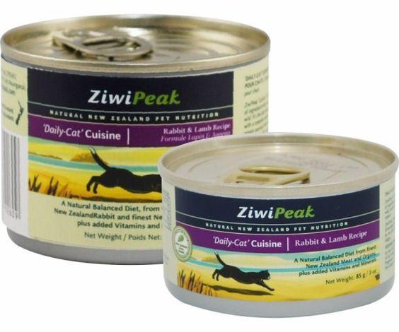 ZiwiPeak Daily-Cat Cuisine Rabbit & Lamb Canned Cat Food