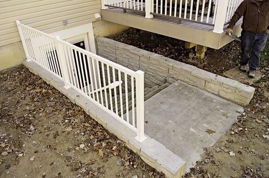 Basement Egress Door With Stair Dream Home Basement Pinterest Photos Of On