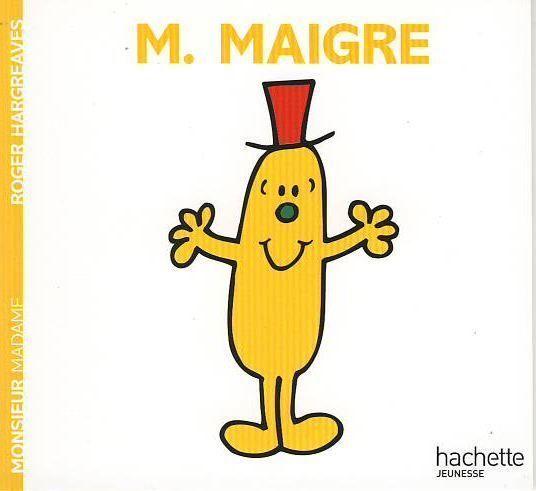Livre monsieur madame monsieur maigre roger hargreaves mr mme pinterest - Madame tout va bien ...
