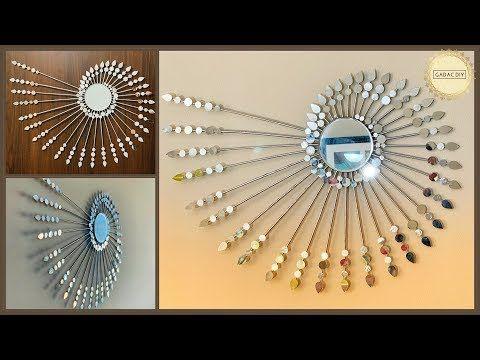 Unique Wall Hanging Ideas Gadac Diy Wall Decoration Ideas Craft Ideas Diy Wall Decor Diy Crafts Check Out Th Wall Hanging Crafts Diy Wall Decor Diy Wall