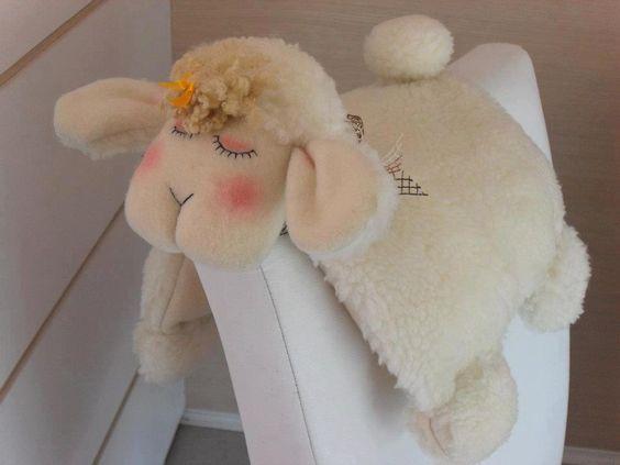 Almohada oveja lenceria pinterest inspiraci n fotos y fieltro - Almohada mimos ...