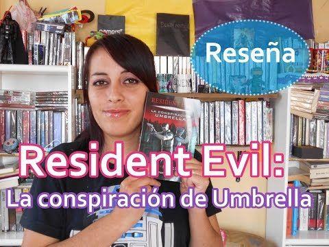 Reseña del segundo tomo de la saga Resident Evil, La conspiración de umbrella basado en los videojuegos. https://www.youtube.com/watch?v=10hOFpOM8bo