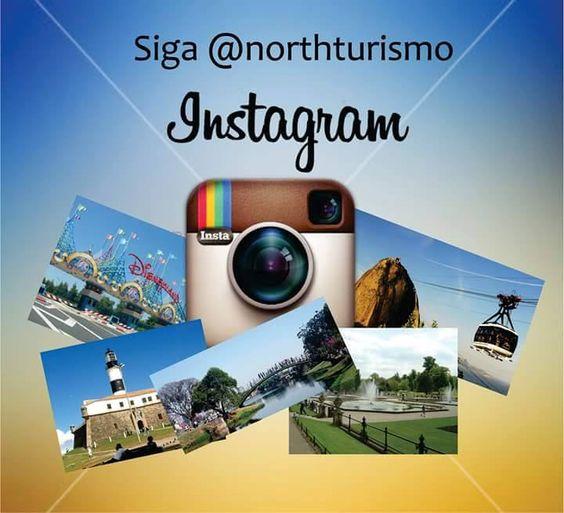 Nosso insta está sempre trazendo muitas novidades... Siga @northturismo e fique por dentro...