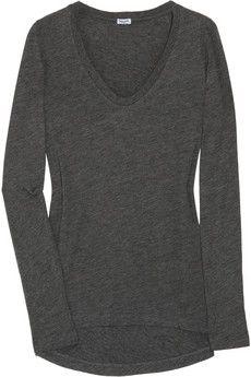 Splendid Cotton and modal-blend top NET-A-PORTER.COM - StyleSays