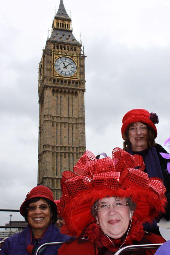 Big hats and Big Ben!