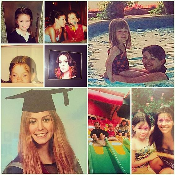 The first 25 years of fun. Happy birthday my beautiful girl @namelessgem  xxxx